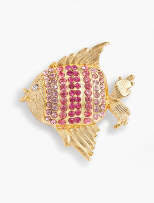 Colorful Fish Brooch