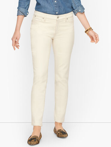 Slim Ankle Jeans - Natural - Curvy Fit