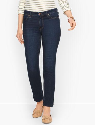 Slim Ankle Jeans - Meteor Wash