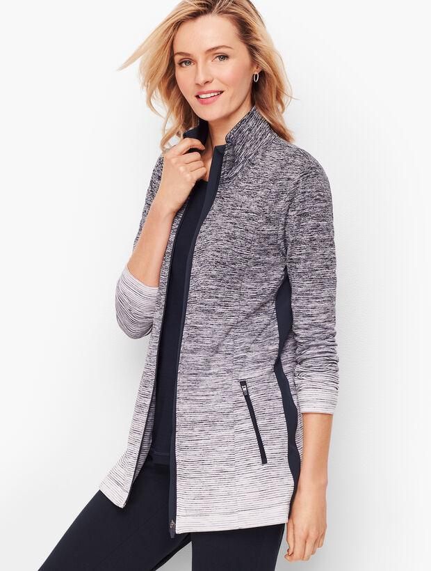 Ombre Stripe Jacket