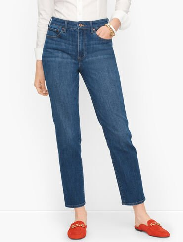 Plus Size Exclusive Modern Ankle Jeans - Meridian Wash - Curvy Fit