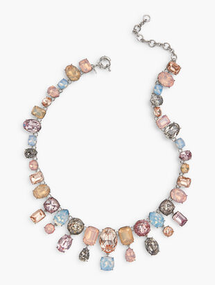 Pretty Pastels Statement Necklace