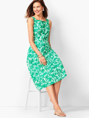 Painted Peas Poplin Sundress