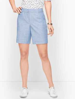 "Perfect Shorts - 7"" - Chambray"