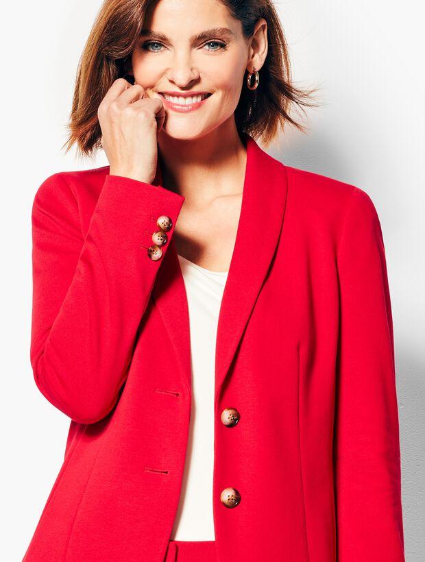 Italian Luxe Knit Blazer