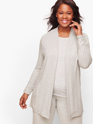 Cozy Soft Open Cardigan