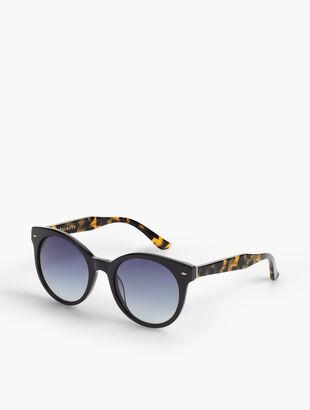 Chelsea Tortoise Cat-Eye Sunglasses
