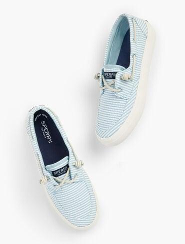 Sperry® Crest Vibe Boat Shoes - Seersucker