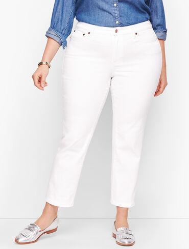 Modern Ankle Jeans - White