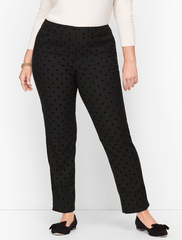 Plus Size Talbots Hampshire Ankle Pants -  Dot