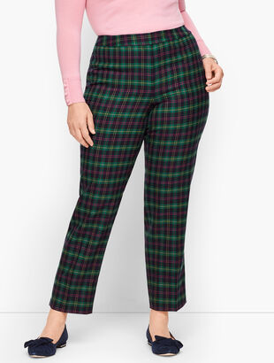 Plus Size Talbots Hampshire Pants - Talbots Tartan