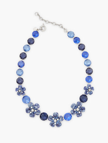 Fall Florals Statement Necklace