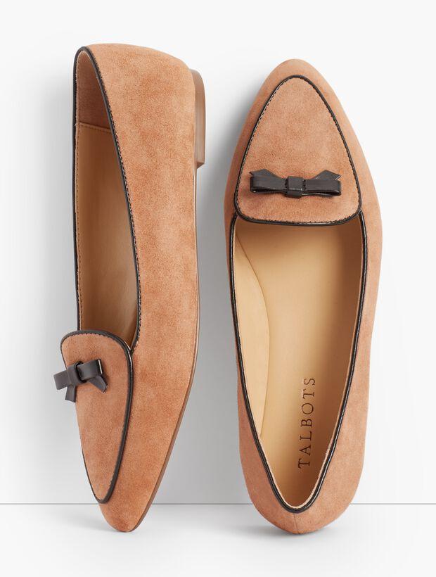 Suede Loafer
