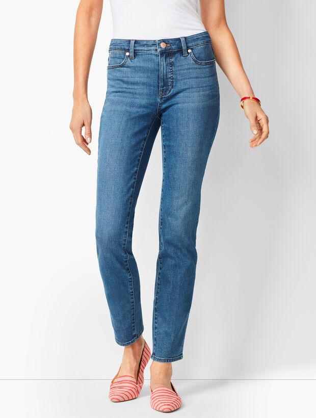 Slim Ankle Jeans - Equinox Wash
