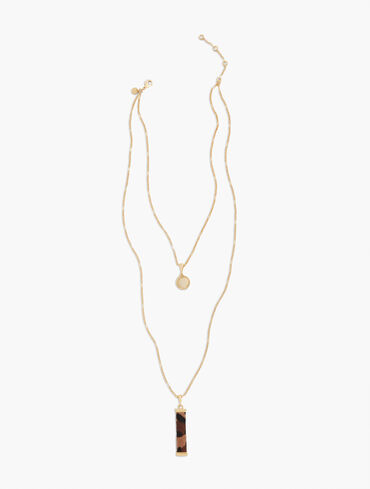 Animal Layered Necklace