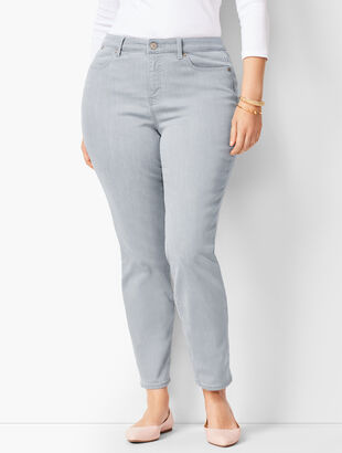 Slim Ankle Jeans - Curvy Fit - Zenith Wash