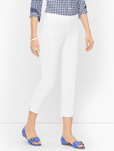 Talbots Chatham Crop Pants - Solid