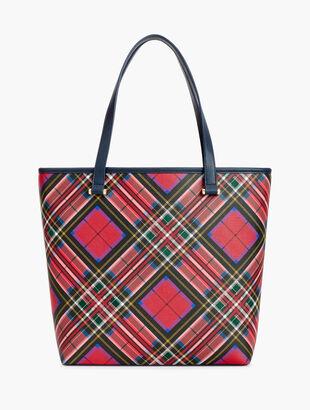 Tartan Plaid Tote Bag