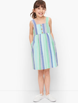 Girls Beachcomber Stripe Dress