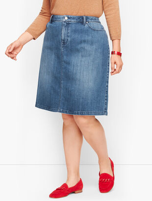 Denim Skirt - Genuine Medium