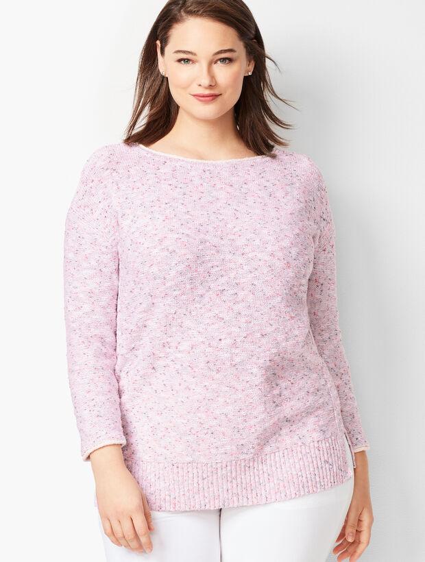 Donegal Bateau-Neck Sweater