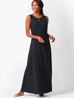 Knit Jersey Maxi Dress