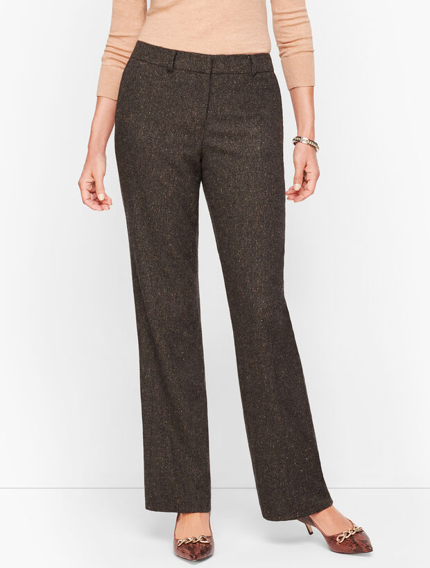 Luxe Donegal Windsor Pants - Curvy Fit
