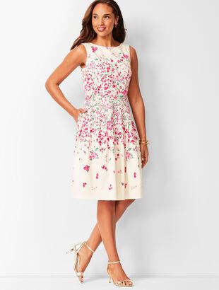Rose Garden Fit & Flare Dress