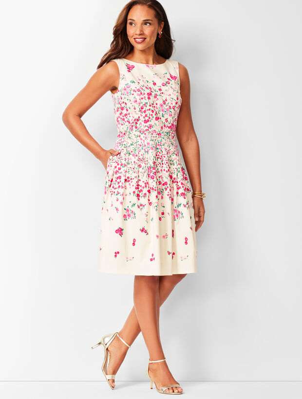 Rose Garden Fit & Flare Dress