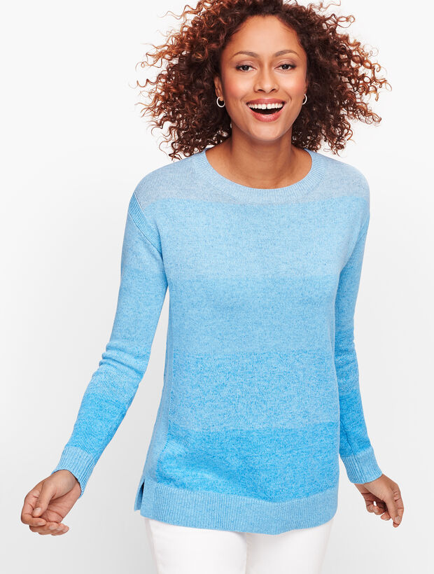 Ombre Stripe Sweater