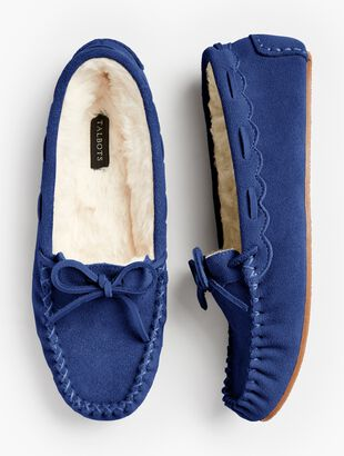 Ruby Moccasin Slippers