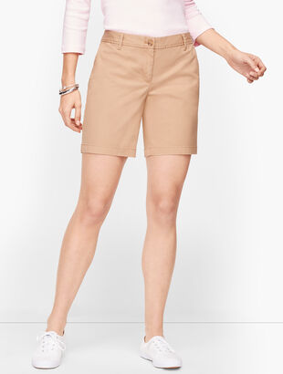 """Relaxed Chino Shorts - 7"""" - Solid"""