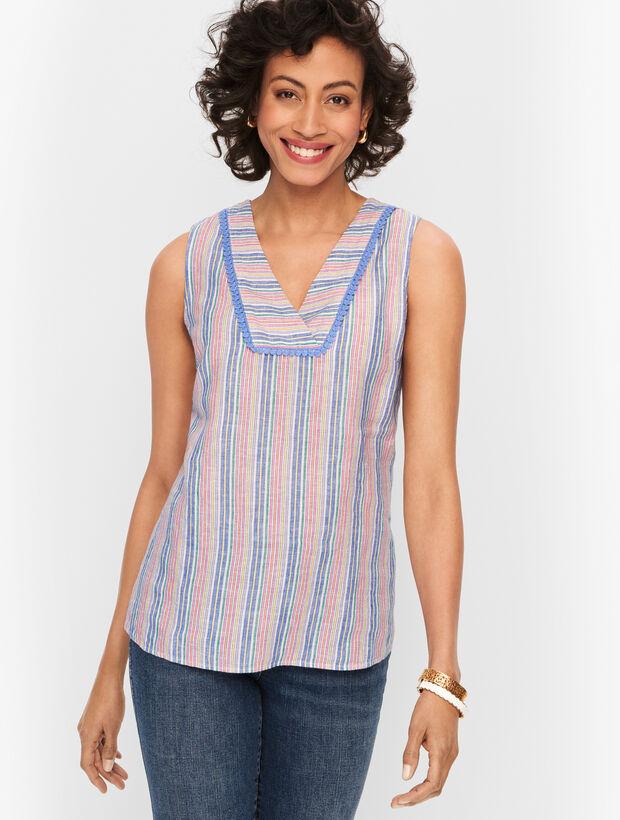 Linen Shell - Stripe