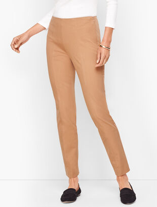 Talbots Chatham Ankle Pants - Front & Back Stitched Seam