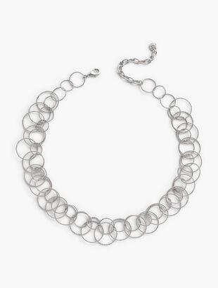 Short Ring Necklace