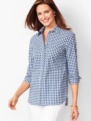 7868a71f35d Classic Cotton Shirt - Gingham