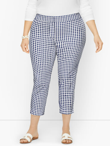 Talbots Chatham Crops - Springy Gingham