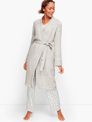 Turkish Cotton Waffle Robe