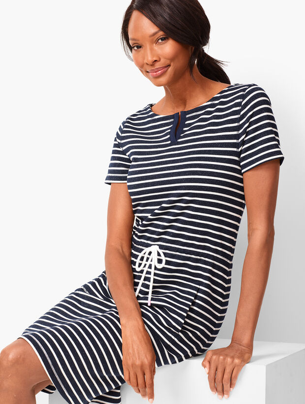 Cabana Stripe Shift Dress