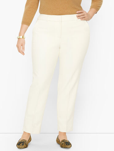 Plus Size Exclusive Talbots Hampshire Ankle Pants - Lined