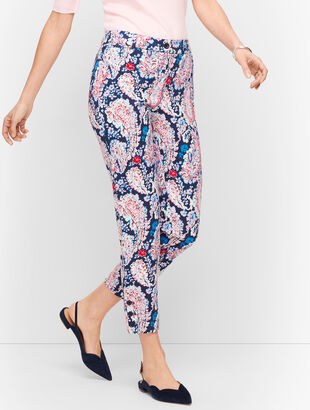 Perfect Crop Pants - Paisley