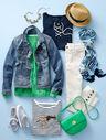 The Classic Denim Jacket-Bluebell Wash