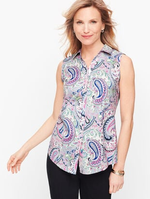 Perfect Shirt - Sleeveless - Paisley