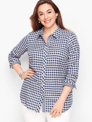 Classic Cotton Shirt - Gingham