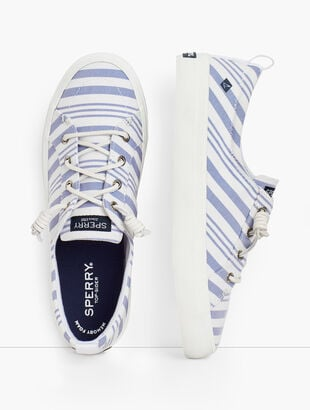 Sperry® Crest Vibe Sneakers - Linen Stripe