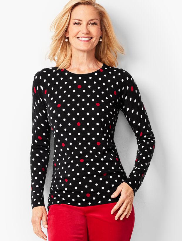 Multi-Dot Merino Sweater