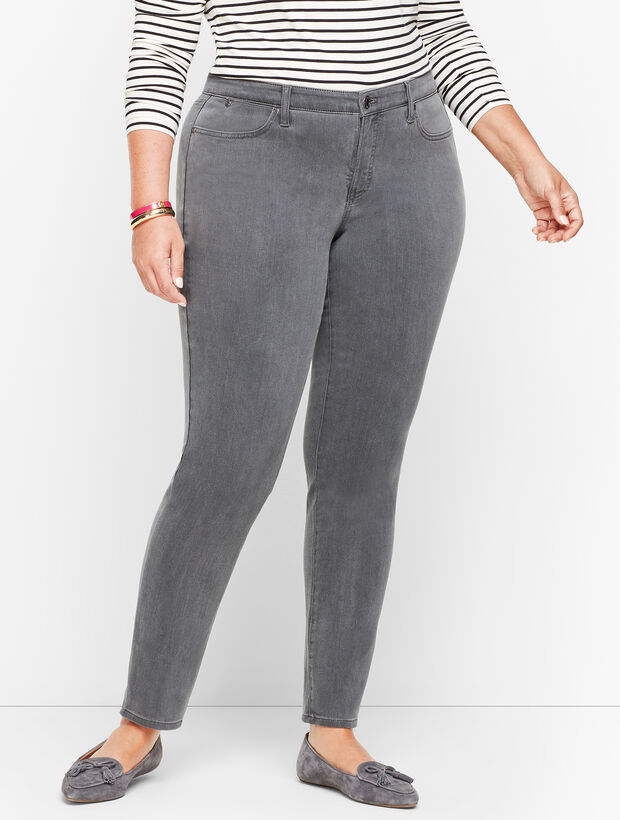 Slim Ankle Jeans - Cadet Grey