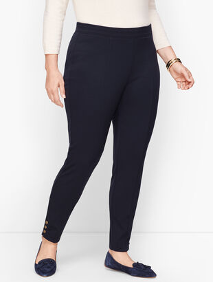 Ankle Snap Ponte Leggings