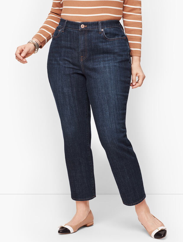 Modern Ankle Jean - Curvy Fit - Genuine Dark Wash