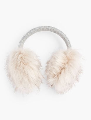 Cable Knit Ear Muffs